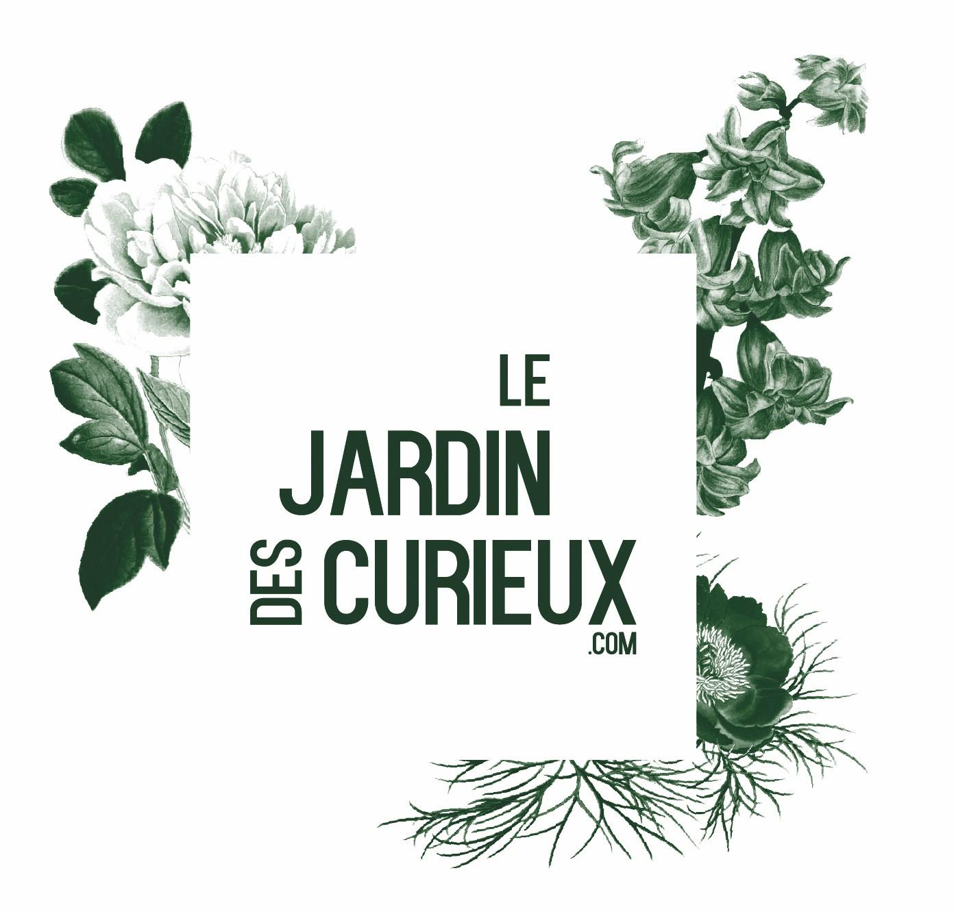 Le jardin des curieux jardinerie en ligne et conseils for Logo jardin