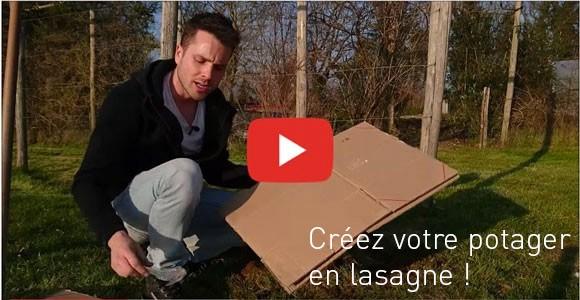 Vidéo Le Jardin des Curieux - Baptiste PIERRE - Le potager en lasagne